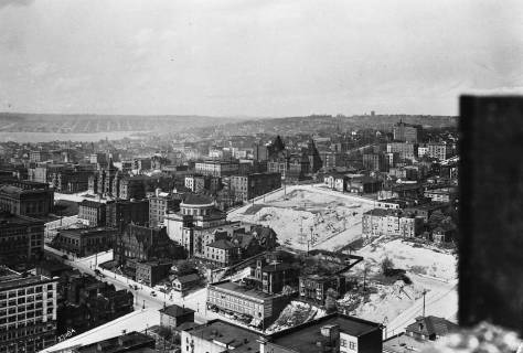 A circa 1912-13 recording from the Smith Tower when it was still under construction.