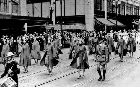 Memorial Day Parade, Seattle - 1936.